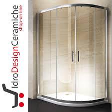 box doccia vendita box doccia curvo 70x90 cristallo 6mm con piatto in acrilico