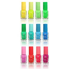 12 colors luminous nail polish fluorescent glow jelly candy color