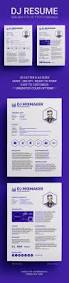 Music Resume Template 16 Best Dj Press Kit And Dj Resume Templates Images On Pinterest