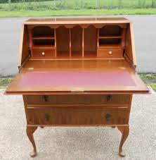 Queen Anne Secretary Desk by Writing Bureau In The Queen Anne Style
