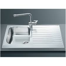 1 bowl kitchen sink smeg lpd861d kitchen sink 1 bowl piano design stainless steel fab