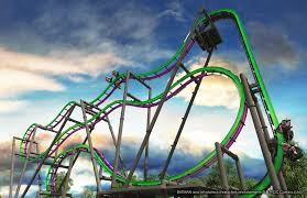 Six Flags In America Six Flags Great Adventure To Debut 14th Coaster The Joker The