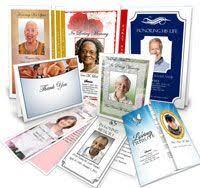 how to make funeral programs 15 best funeral program design ideas images on program