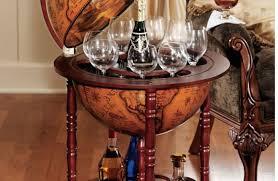 bar awesome corner wine rack design mahogany wooden frames