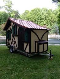 the tudor micro cottage on wheels by woolywagons tiny homes