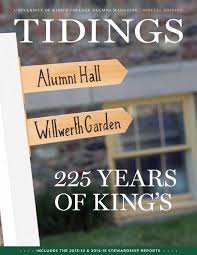 stewardship report sample tidings 225th special anniversary edition by university of tidings 225th special anniversary edition by university of king s college issuu