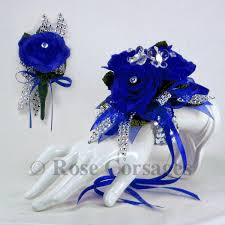 blue corsages for prom blue corsage images search