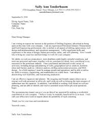 engineering cover letter examples cover letter engineering cover