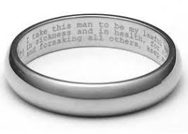 engraving inside wedding band 100 sentimental wedding ideas you ll want to sentimental