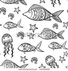 fish outline stock images royalty free images u0026 vectors