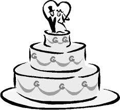 wedding cake drawing wedding cake cutting guide