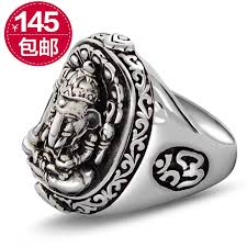 silver ring for men 925 sterling silver rings for men domineering lucky lucky thai