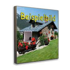 Mein Haus Klingel Haustür Mit Individuellem Motiv Unser Haus Auf Der Türklingel