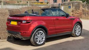 evoque land rover convertible file land rover range rover evoque convertible 2016 rear three