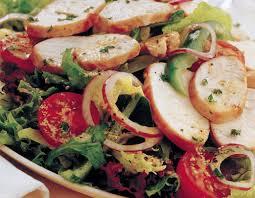 grilled turkey salad with dijon mustard dressing recipe relish