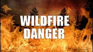 wildfire danger in ar thanksgiving weekend kark and karz