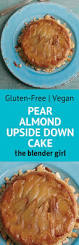 gluten free vegan pear upside down cake pressure cooker pear