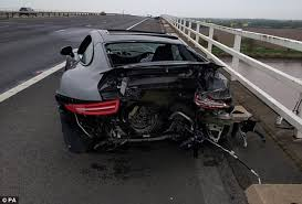Black Mustang Crash M62 Still Closed 4 Hours After Porsche And Mustang Crash Daily