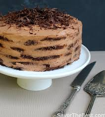 mocha chocolate icebox cake savor the best