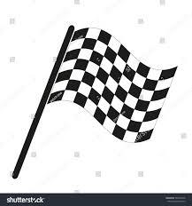 Finish Line Flag Finish Flag Icon Stock Vector 587004278 Shutterstock