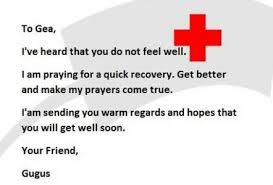 5 contoh surat simpati untuk orang yang sakit dalam bahasa inggris