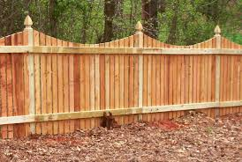 exciting wooden element creating gorgeous outdoor fence
