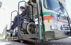 wait for disabled bay area commuters transit service