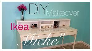 Diy Ikea Desk Diy Ikea Micke Desk Makeover