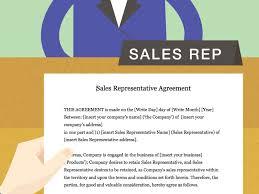 Inside Sales Rep Resume Sales Representative Agreement Template Virtren Com