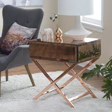 belham living reflection campaign table hayneedle