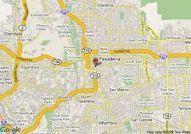 pasadena ca map map of pasadena inn pasadena