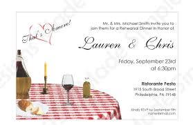 Dinner Invitation Italian Rehearsal Dinner Invitation Printable
