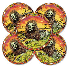 cs284a leo the lion grateful dead zodiac color sticker