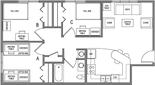 Economy House Plans by Rooms Residential Life U2013 Minnesota State University Mankato
