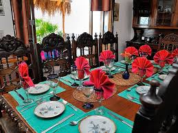 Mexican Dining Room Furniture by Casa Carole Puerto Vallarta Villa Rentals