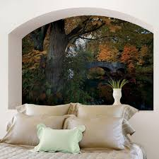 york wallcoverings 120 in x 26 in american classics 2 panel book w fall foliage wall mural