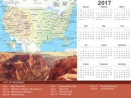 2017 holiday calendar for different countries