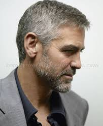 trending hairstyles for men over 50 with a receding hairline hairstyles for men over 50 george clooney side part hairstyle