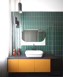 fascinating bathroom accessories sets green gold racks green wall