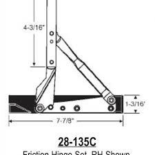 Awning Window Hinge Magnum Casement Window Hinges Window Repair Parts