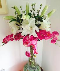 orchid bouquet real touch casablanca orchid bouquet the silk flower
