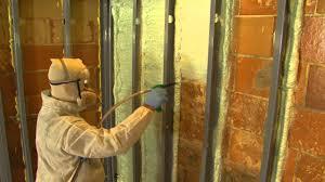 Spray Insulation For Basement Walls Jeff Wilson U0027s Basement Retrofit With Foam It Green From Spray Foam