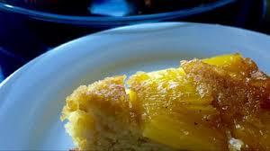 recipe fresh pineapple upside down cake youtube