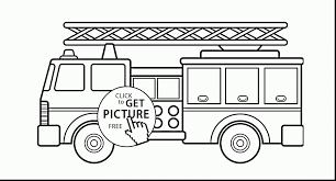 remarkable garbage truck coloring pages with firetruck coloring