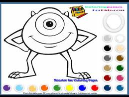 monsters coloring pages monsters colouring pictures game