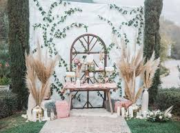 wedding backdrop modern wedding desert table décor with unique ideas weddceremony