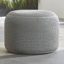 crate and barrel medicine cabinet poufs crate and barrel within outdoor pouf ottoman prepare 7