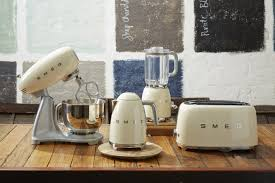 Silver Toaster And Kettle Set Smeg Hits Sweet Spot With Award Winning Retro Small Appliances