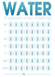 Challenge Water Drop Drink 8 Cups Of Water Workout Cups Bullet