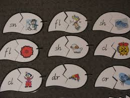 printable letter blends puzzle learning 4 kids